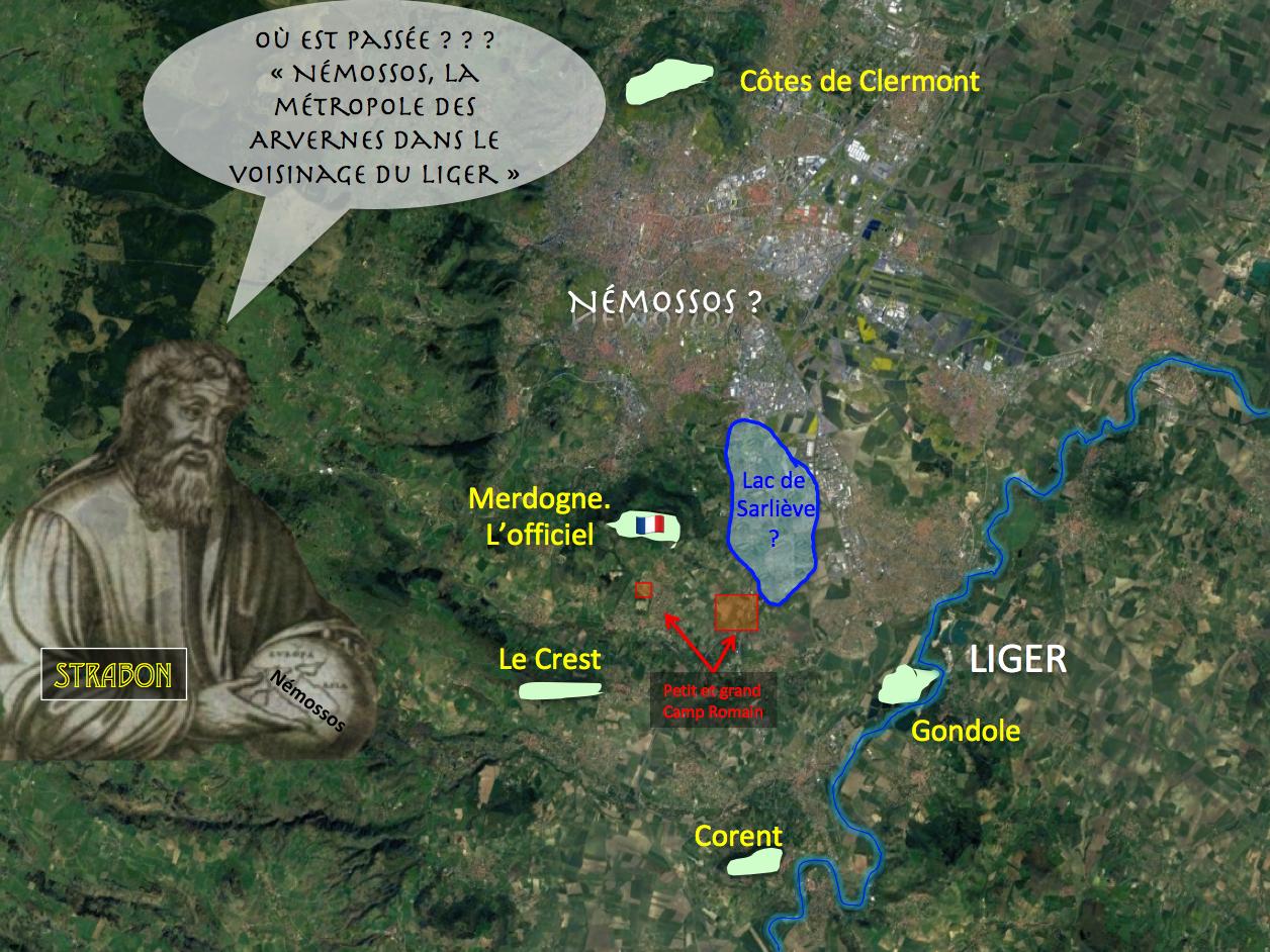 Gergovie St Maurice de Lignon: Némossos la métropole Arverne disparait sur nos livres d'histoire.