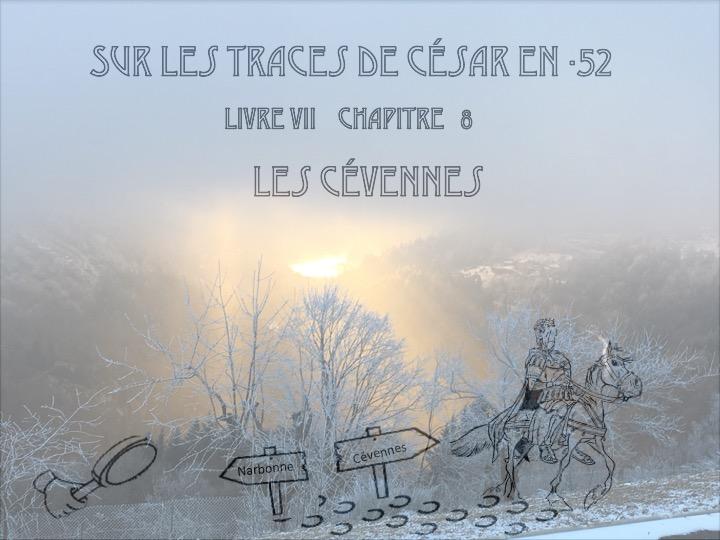 traversée des Cévennes par Jules CésarDiapositive01