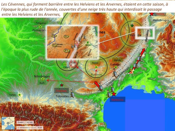 traversée des Cévennes par Jules CésarDiapositive04