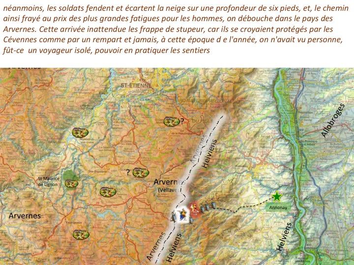 traversée des Cévennes par Jules CésarDiapositive05