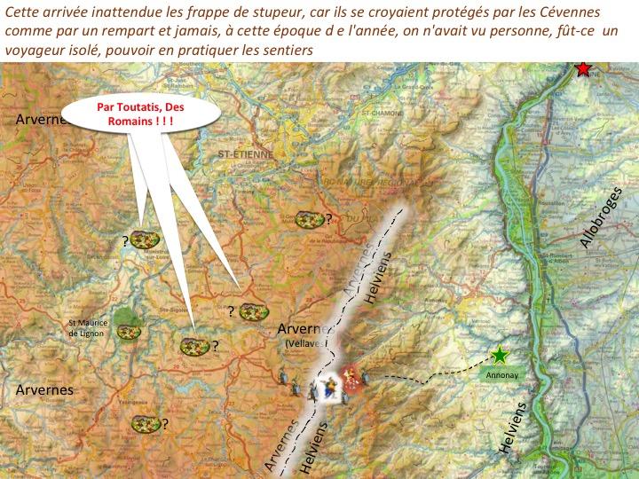 traversée des Cévennes par Jules CésarDiapositive06