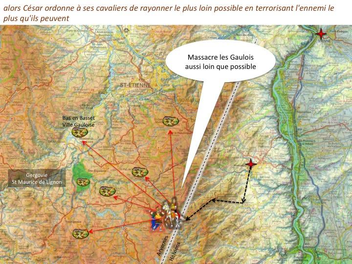 traversée des Cévennes par Jules CésarDiapositive07