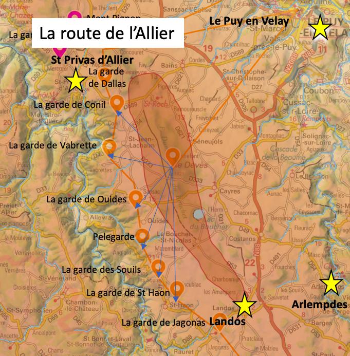 La route de l'Allier