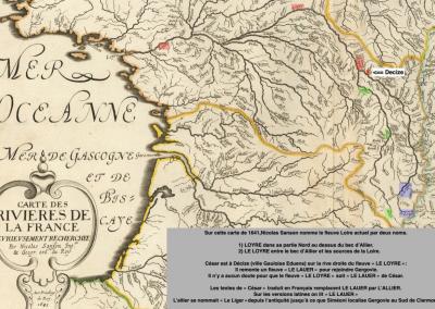 La Loire se nommait Le Loyre au XVIII siècle