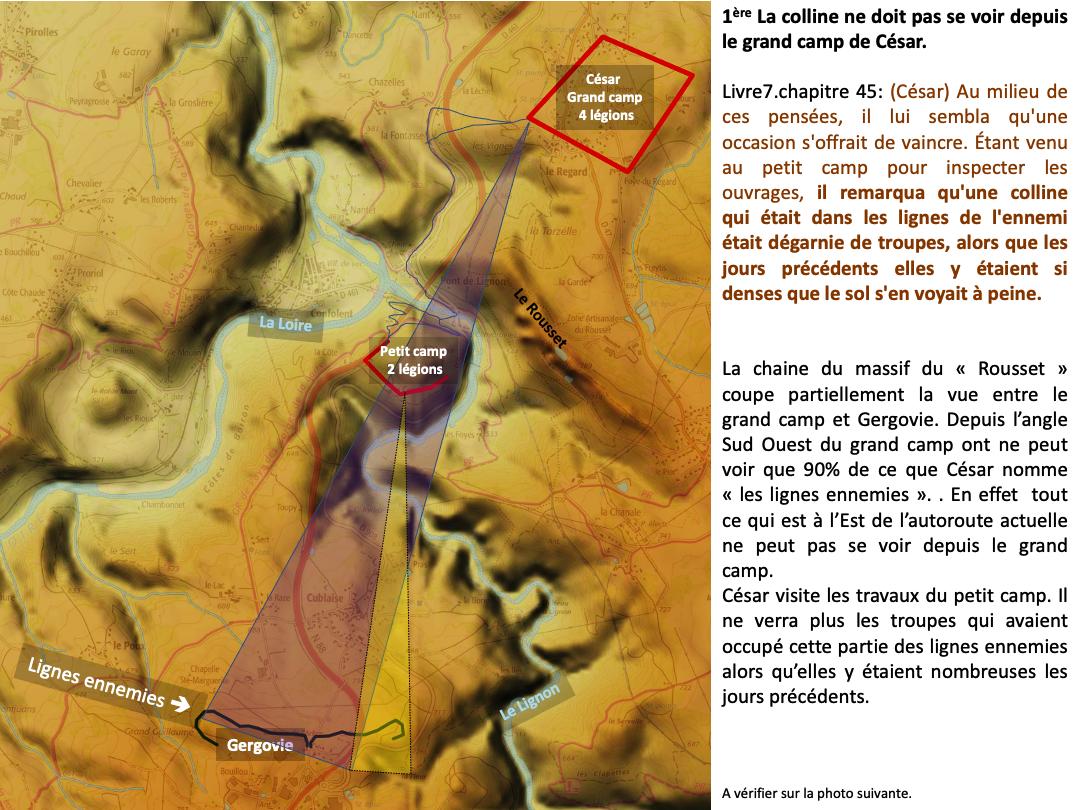Gergovie est à Saint Maurice de Lignon chez les Arvernes